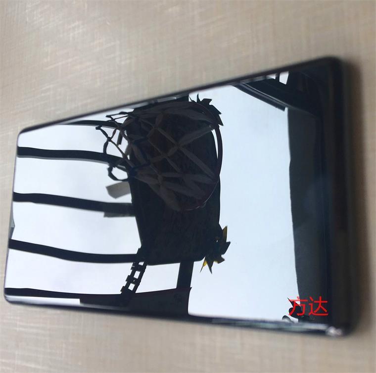 手机玻璃屏扫光机的诞生